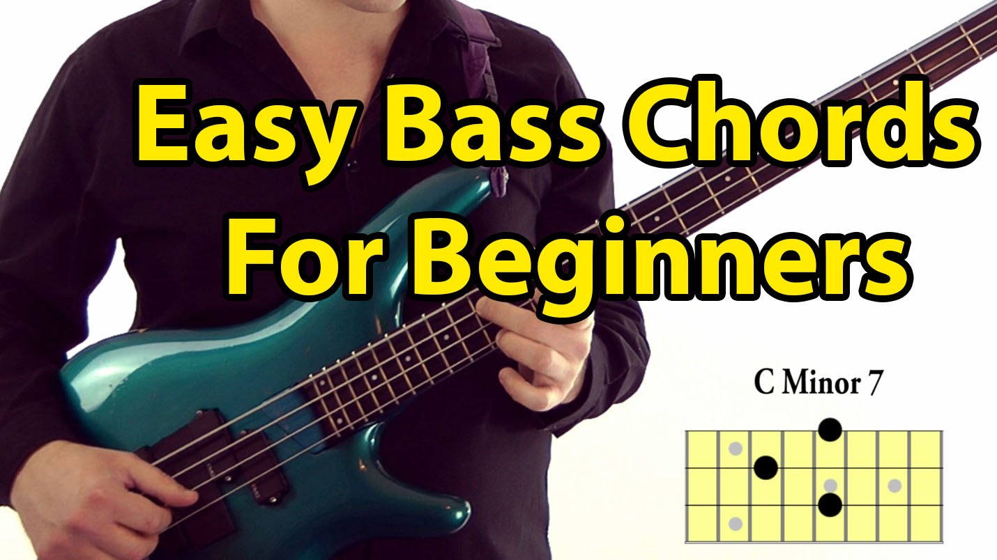 easy bass guitar chords for beginners l 87 aprender contrabaixo. Black Bedroom Furniture Sets. Home Design Ideas
