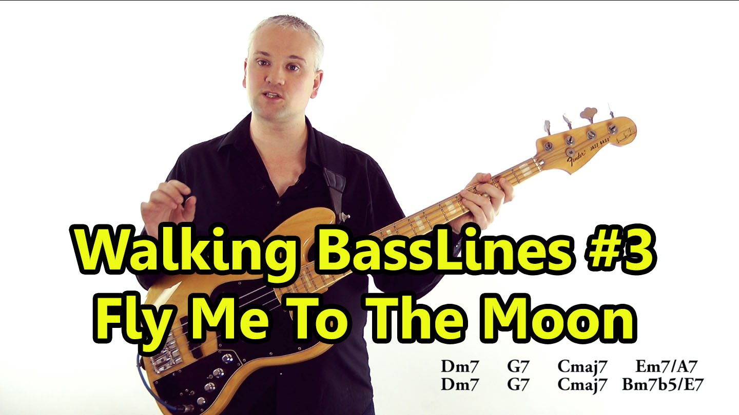 Walking Basslines 3 Using Chord Tones Fly Me To The Moon L68