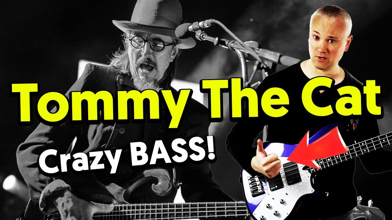 Tommy The Cat - The Toughest Les Claypool Bass Line Bass -4303